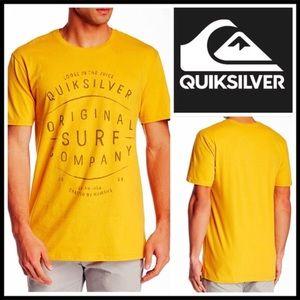 QUICKSILVER YELLOW UNISEX TEE Original Surf Co